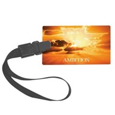 Inspirational Poster: A Journey  Luggage Tag