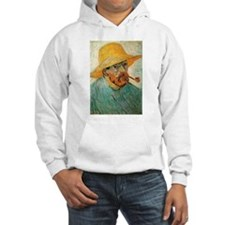 Pipe and Straw Hat Hoodie