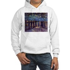 Starry Night Over The Rhone Hoodie