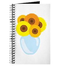 Sunflower Vase Journal