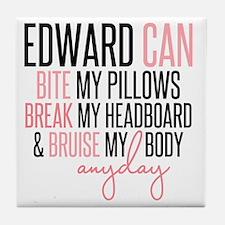 Edward Can.. Tile Coaster