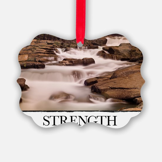 Inspirational Motivational Poster Ornament