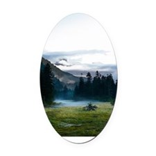 Inspirational Motivational Poster: Oval Car Magnet