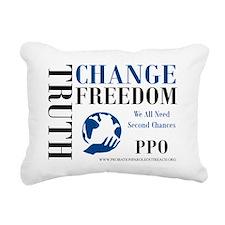PPOSAMP4NAVYWITHSITE Rectangular Canvas Pillow