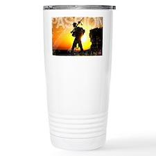 Military Grunge Poster: Passion Travel Mug