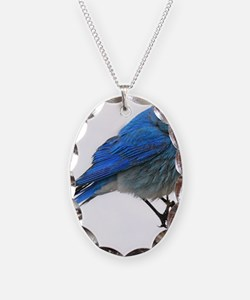 Mountain blue bird Necklace