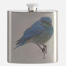Mountain blue bird Flask