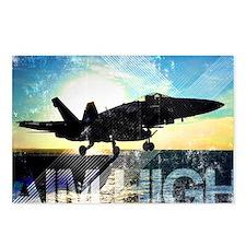 Motivational Grunge Poste Postcards (Package of 8)