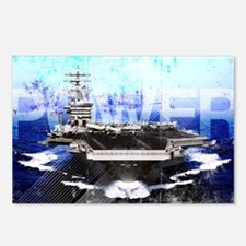Military Grunge Poster: P Postcards (Package of 8)