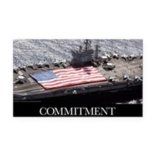 Motivational Poster: USS Nimi Rectangle Car Magnet