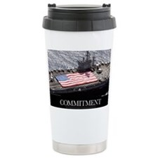 Motivational Poster: USS Nimitz Travel Mug