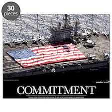 Motivational Poster: USS Nimitz Puzzle