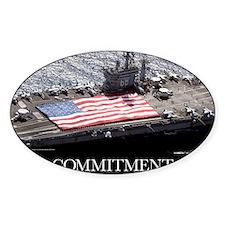 Motivational Poster: USS Nimitz Decal
