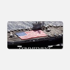 Motivational Poster: USS Ni Aluminum License Plate