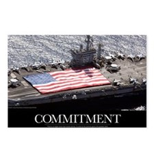 Motivational Poster: USS  Postcards (Package of 8)