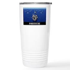 Motivational Poster: USS Ronald Travel Mug