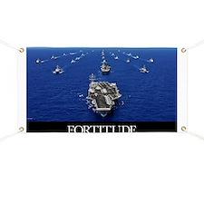 Motivational Poster: USS Ronald Reagan Banner