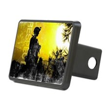 Motivational Grunge Poster Hitch Cover
