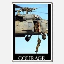 Motivational Poster: Courage Banner