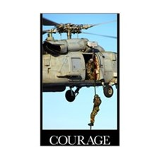 Motivational Poster: Courage Decal