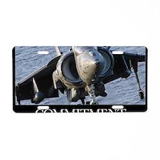 Motivational Poster: Close- Aluminum License Plate