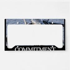 Motivational Poster: Close-up License Plate Holder