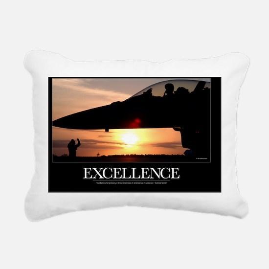 Military Poster: If We A Rectangular Canvas Pillow