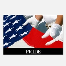 Military Poster: Only our Postcards (Package of 8)