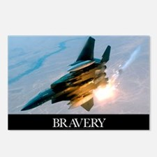 Military Poster: Brave me Postcards (Package of 8)