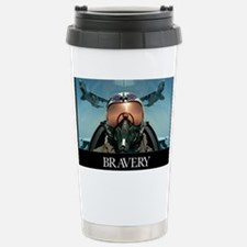 Military Poster: Brave men stan Stainless Steel Tr