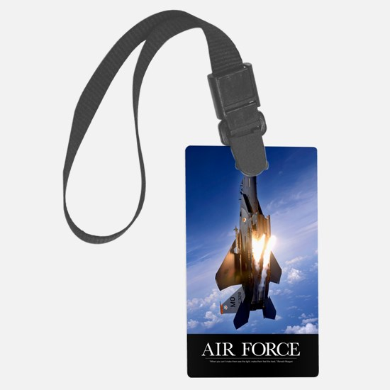 Military Poster: An F-15E Strike Luggage Tag