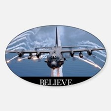 Military Poster: An AC-130H Gunship Decal