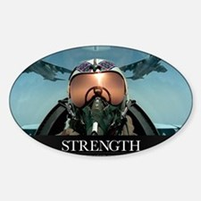 Military Poster: A pilot takes a se Decal