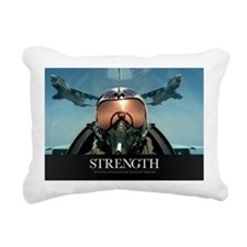 Military Poster: A pilot Rectangular Canvas Pillow