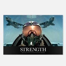Military Poster: A pilot  Postcards (Package of 8)