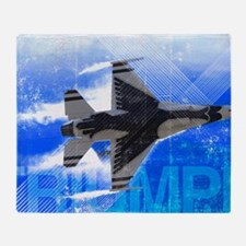 Military Grunge Poster: Triumph. An  Throw Blanket