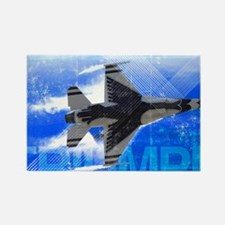 Military Grunge Poster: Triumph.  Rectangle Magnet
