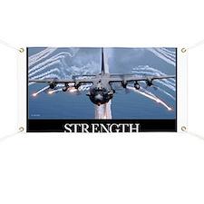 Military Motivational Poster: An AC-130H Gu Banner