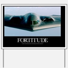 Military Poster: A B-2 Spirit takes on f Yard Sign