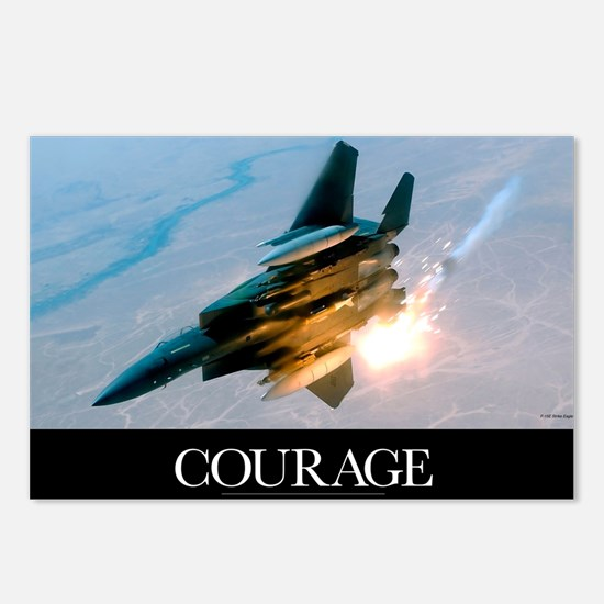 Military Poster: An F-15E Postcards (Package of 8)