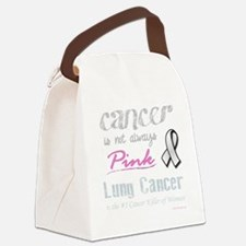 Cancer is Not Always Pink! Canvas Lunch Bag