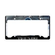 Military Poster: An F-22 Rapt License Plate Holder
