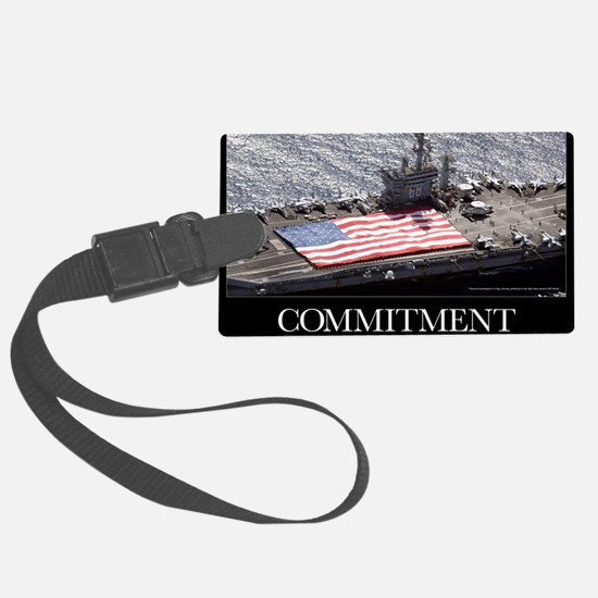 Military Poster: Personnel parti Luggage Tag