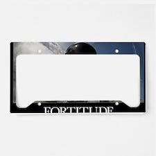Military Poster: Self-portrai License Plate Holder