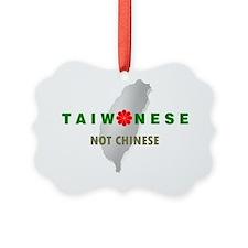 TaiwaneseNotChinese_IslandMap Ornament