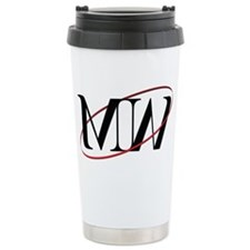 MW Logo Ceramic Travel Mug