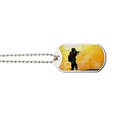 US Army Grunge Poster: Focus. U.S. Army s Dog Tags