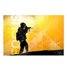 US Army Grunge Poster: Fo Postcards (Package of 8)