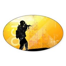 US Army Grunge Poster: Focus. U.S.  Decal