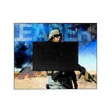 Motivational Grunge Poster: Leaders. Picture Frame